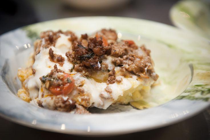 polenta lasagna | Polenta. | Pinterest