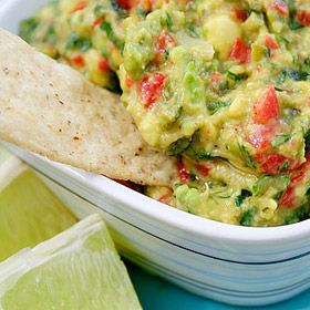 Roasted Garlic, Poblano and Red Pepper Guacamole - I can't wait until ...