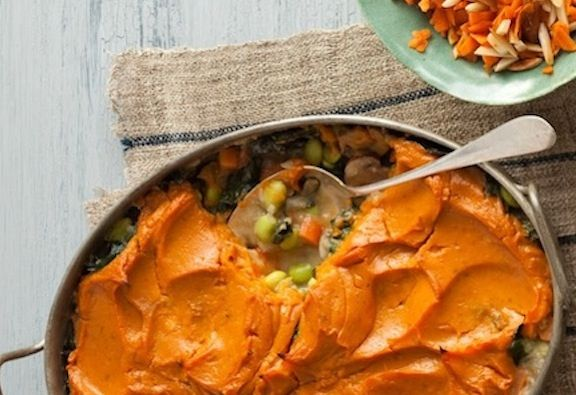 Sweet potato shepherd's pie recipe | v e g a n | Pinterest
