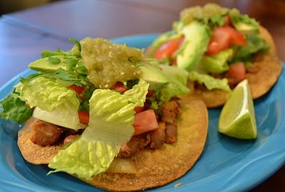 Chipotle Pinto Bean Tostadas (vegan) | Recipes | Pinterest