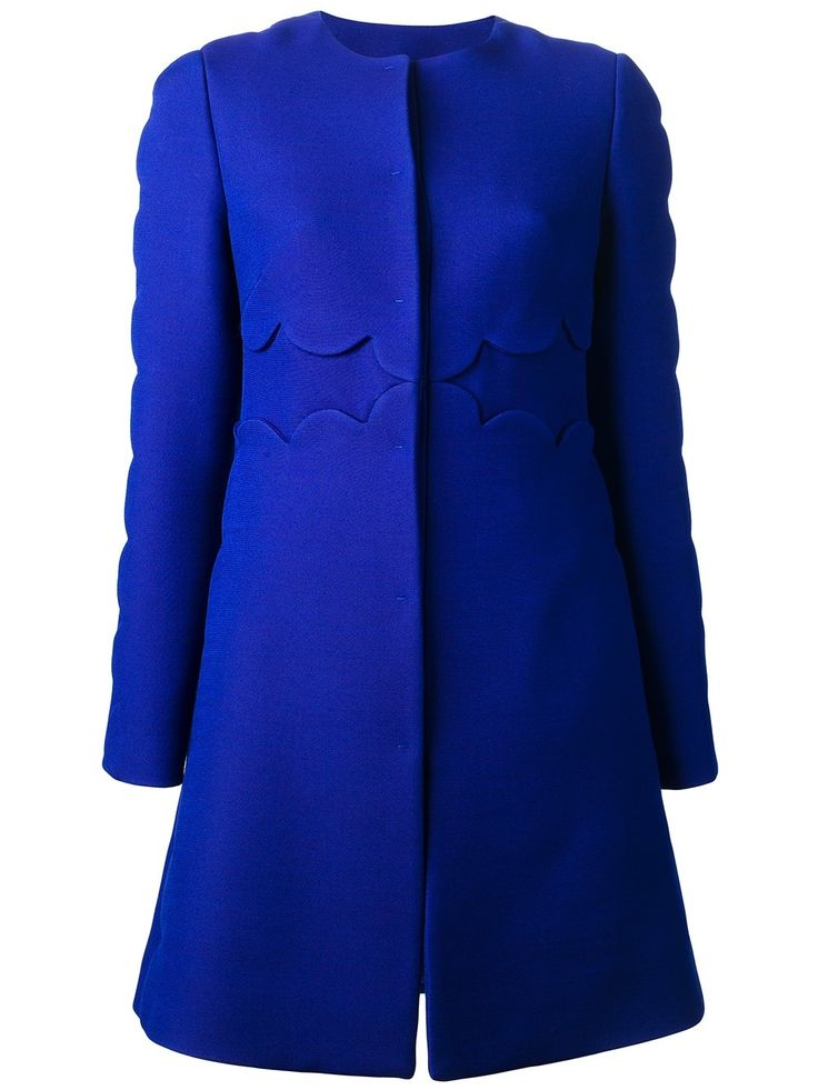 valentino scalloped coat