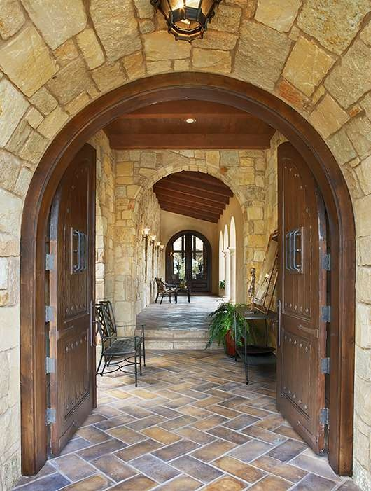 Hill Country Porch Hill Country Style Homes Pinterest