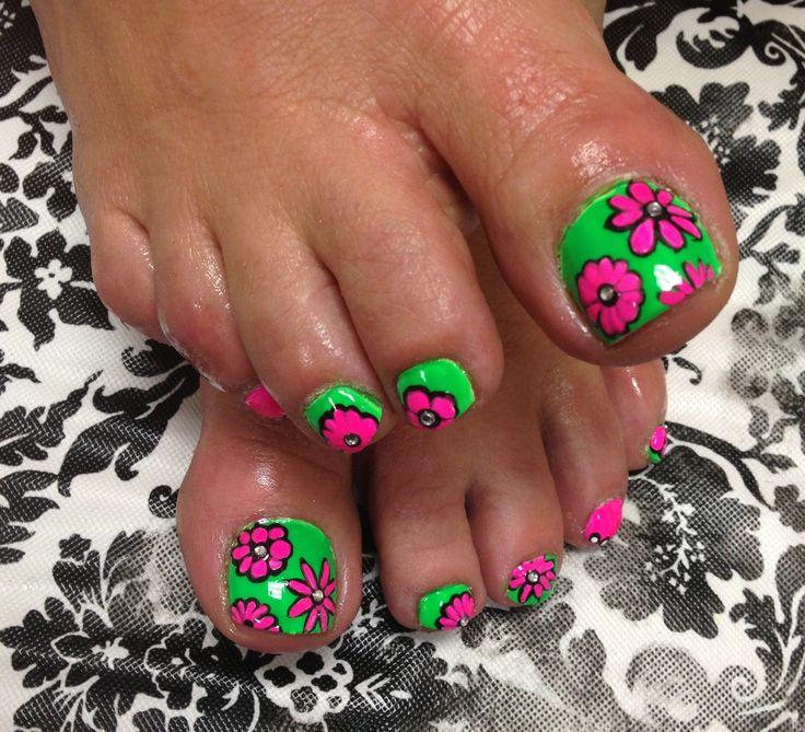 Pedi nail art ledufa fine pedi nail art 15 given inspiration article prinsesfo Image collections