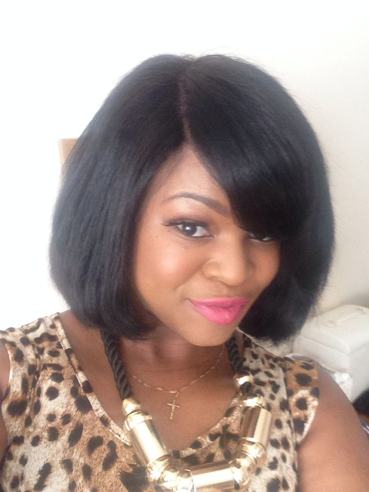 Weave Bob With Added Closure   hairstylegalleries.com