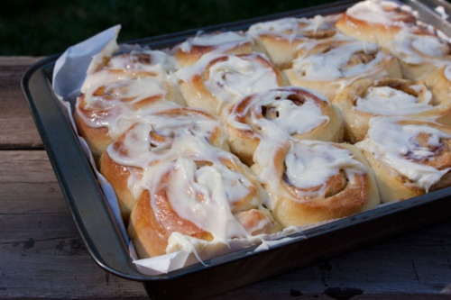 cinnamon buns, extra cream cheese icing | Breads, Buns and Rolls | Pi ...