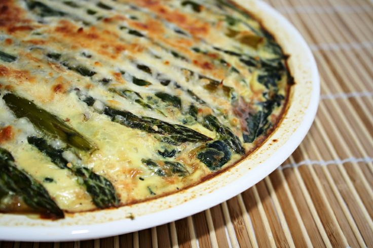 Crustless Quiche With Feta And Asparagus Recipes — Dishmaps