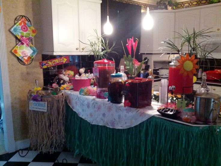 Mom 39 S 80th Bar Set Up Party Ideas Pinterest