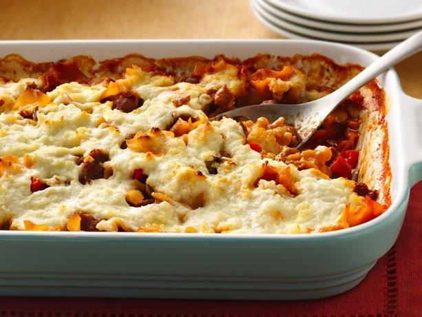 sausage lasagna | Food | Pinterest