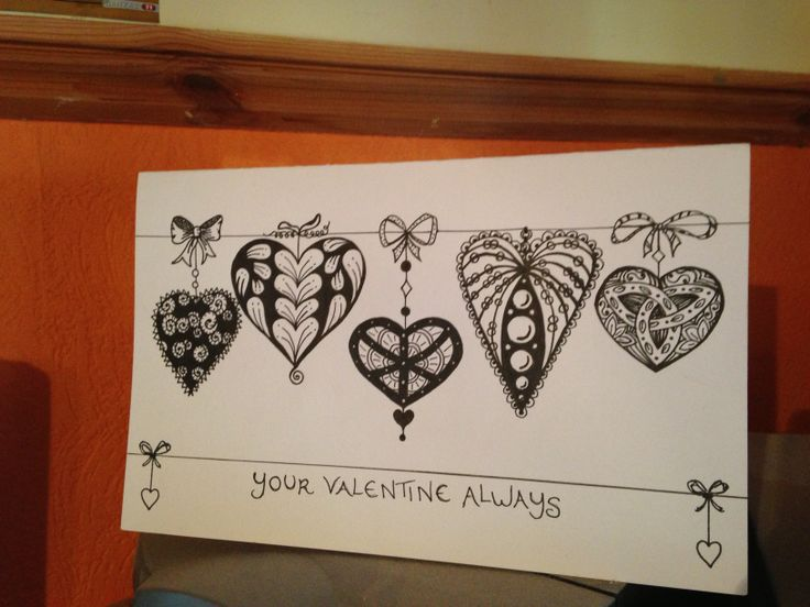 valentines day heart card ideas