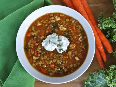 Slow Cooker Lentil Caulflower Stew from The Shiksa in the Kitchen ...