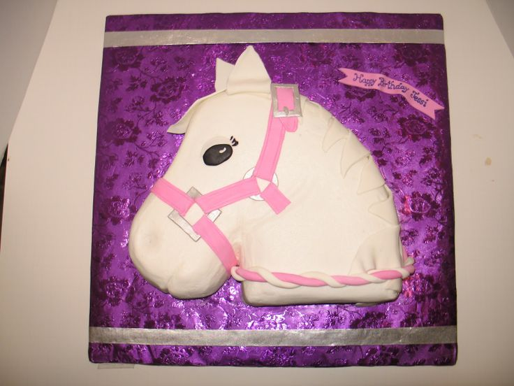 White Horse Cakes Ideas For Birthday 34935 Horse Birthday