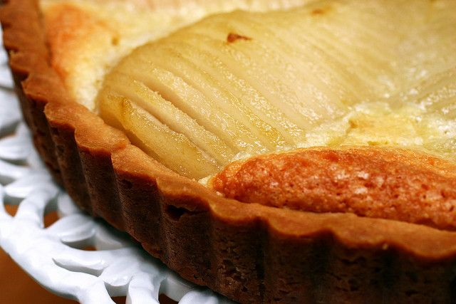 want to eat pear tart so much, I'm obsessed. pear almond tart by ...