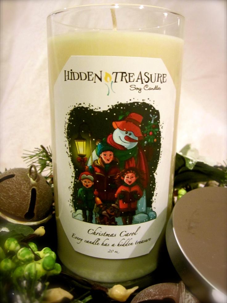 Christmas Carol | Hidden Treasure Candles | Pinterest