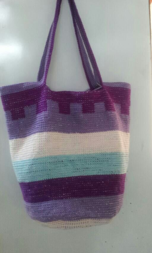 Tapestry Crochet Bag : Tapestry crochet bag. crochet 2 Pinterest