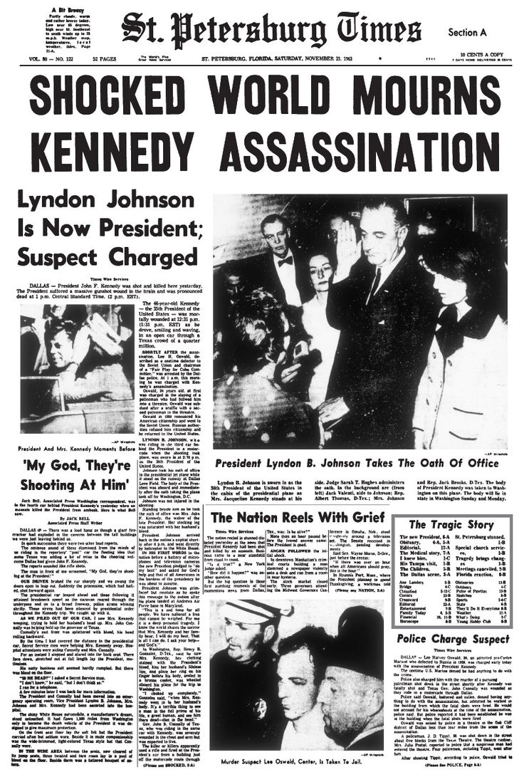 the details of the 1963 assassination of president jf kennedy The drunken truth about the jfk assassination  did the first bullet pass through president kennedy and continue on to wound texas governor  by late 1963, a few.