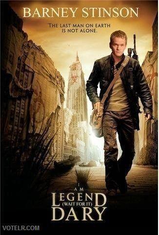 HIMYM I Am Legend Poster [Pic]
