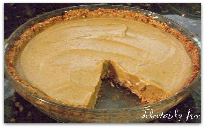 low-fat pumpkin mousse pie   food   Pinterest