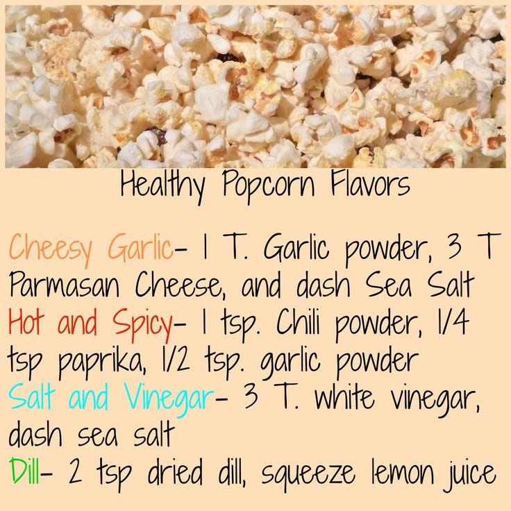 Popcorn Flavors