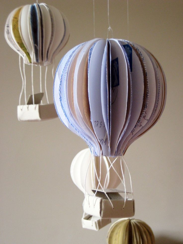 Hot air balloon hanging decoration hot air balloon party for Air balloon decoration