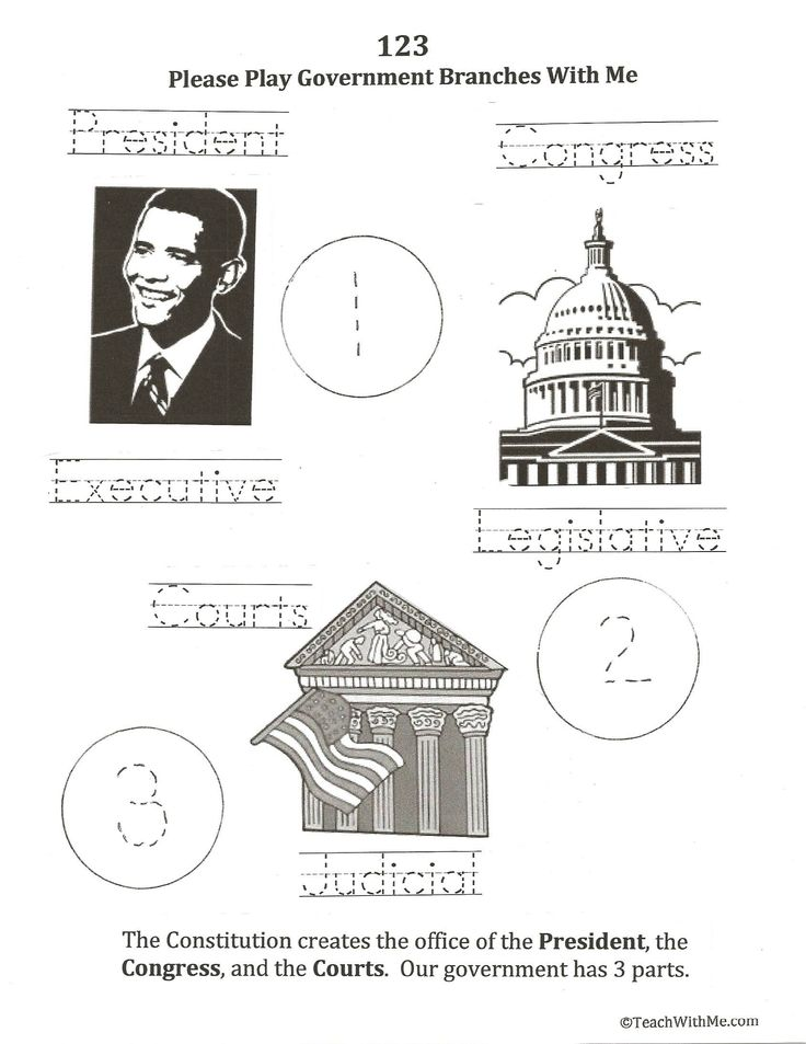 Free constitution worksheets elementary