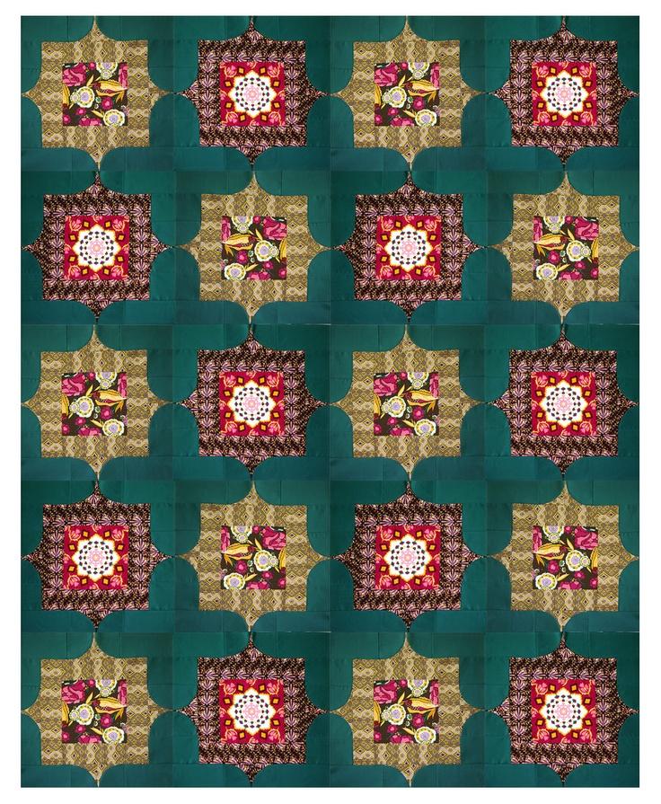 Free Quilt Patterns From Pinterest : bijoux-quilt - free block pattern Quilt Inspiration Pinterest