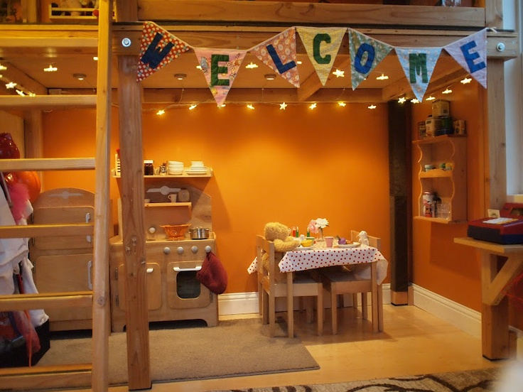Cute Dramatic Play Area Kids Pinterest