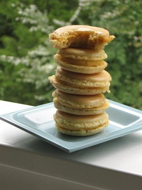 ... : Les Macarons > Willow Bird Baking ***Cardamom Pumpkin Macarons