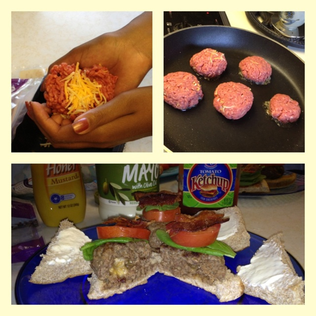 Mini burgers with a cheesy center. Nommy : ] | When Im a Master Chef ...