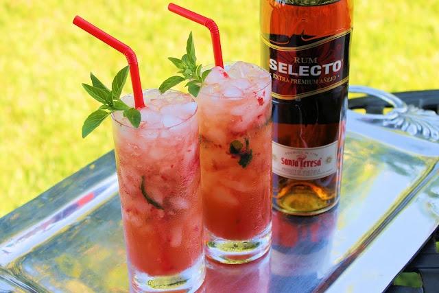 Strawberry & Basil Mojito | Cheers | Salud | Santé! | Pinterest