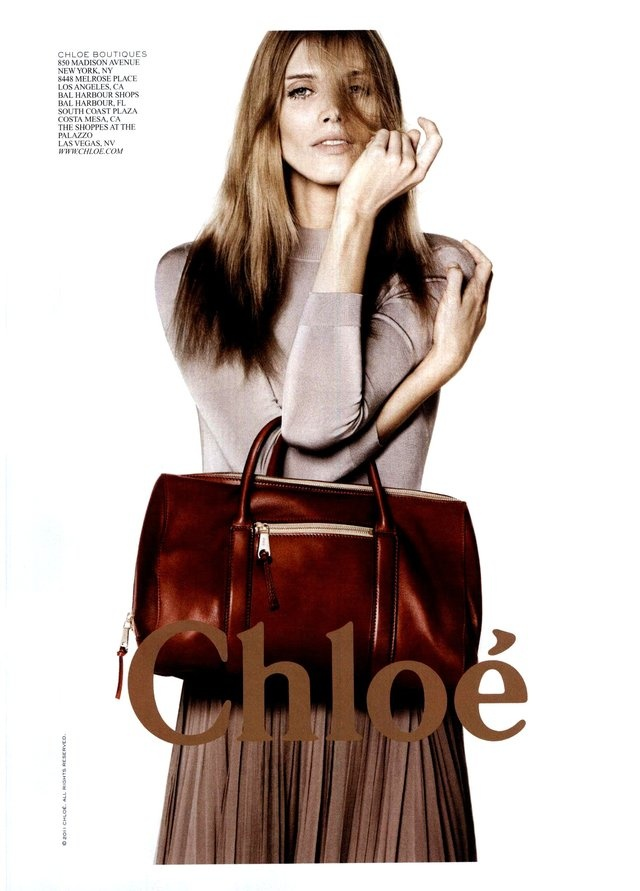 Chloé Ad Campaign Spring/Summer 2011 | Bags Studio