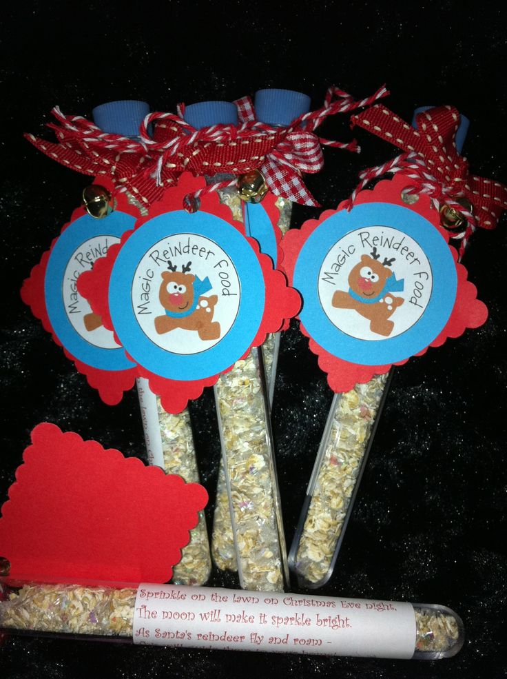 Magic reindeer food / dust. Ensure Santa visits your house on ...
