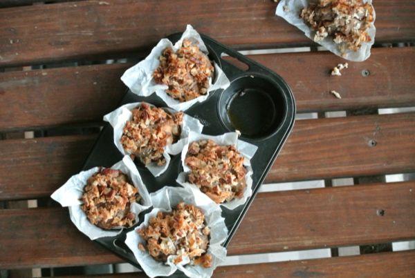 Banana Bread Muffins | Vegan Food | Pinterest