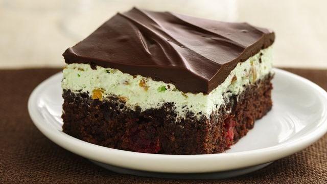 Chocolate-Cherry-Pistachio Brownies | Recipe