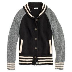 Madewell Letterman Sweater Jacket 88
