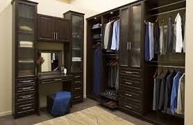 L Shaped Closet With Vanity Mast Bath Master Bedroom