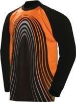 Sml or med sondico porto soccer padded goalie goal jersey shirt orange