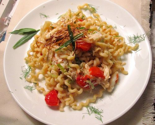 Pasta with crab and fennel | Dinner Delights | Pinterest