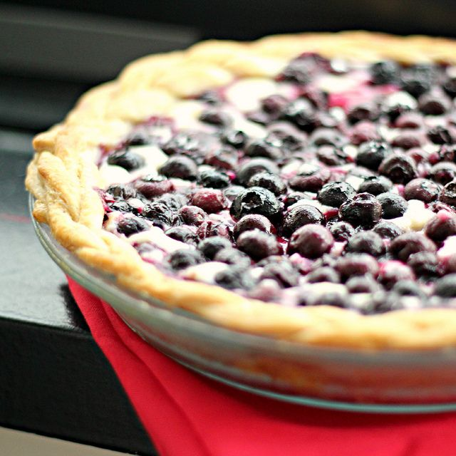 Blueberry Cream Cheese Pie | Eats Well With Others