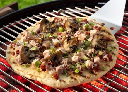 How to use a Pizza Stone on a BBQ Grill #Grilling #BBQ #Recipes