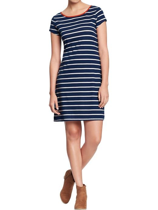 Old navy stripe t shirt dress 10 need want shop for Navy striped dress shirt