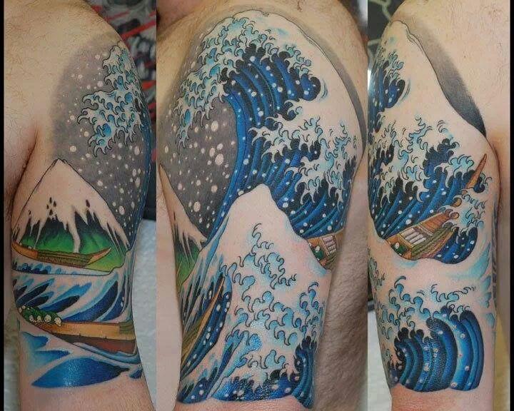 japanese wave | Tattoo | Pinterest