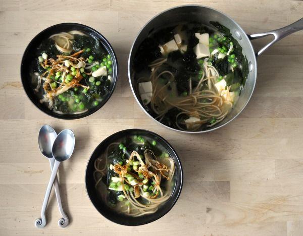 Miso Soup Meal Recipe | b i t e s + s i p s | Pinterest