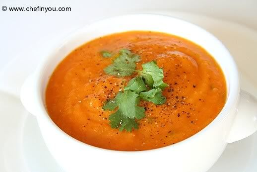 healthy carrot soup cooking pinterest