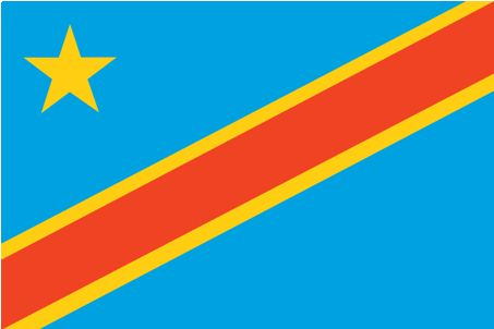 flag democratic republic of congo