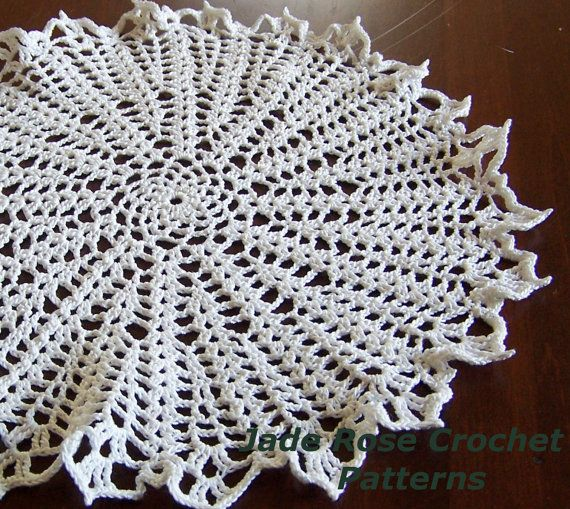 Crocheted Doily Pattern Cosmic Starburst by JadeRoseCrochet, $4.50