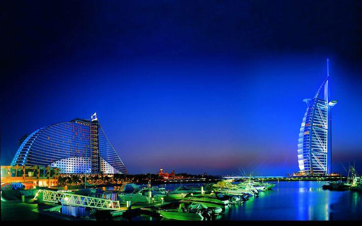 Jumeirah-Beach-night