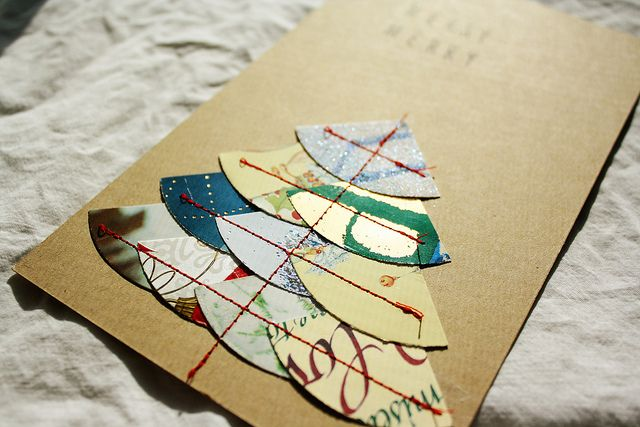 Pin by julie mccalpin on old christmas cards pinterest for How to recycle old christmas cards
