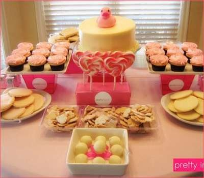 para ordenar la comida baby shower for a girl pinterest
