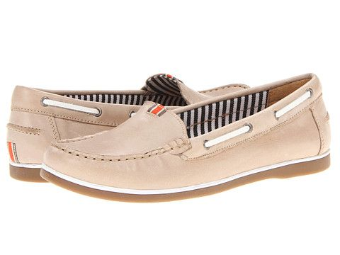 also a fan of these guys: Naturalizer Hanover Grey-Beige/White