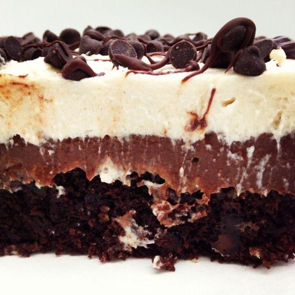 Paleo chocolate lasagna | dessert | Pinterest